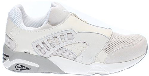 Puma Trinomic Zip Cuir Baskets Whisper White-Drizzle