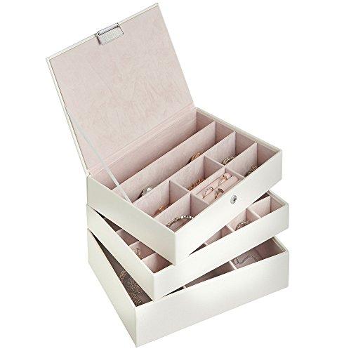 joyero-organizador-apilable-de-3-niveles-beautify-de-piel-sintetica-para-con-tapizado-en-terciopelo