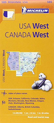 Michelin U.S.A. West, Canada West: Usa: Arizona, California, Colorado, Idaho, Montana, Nevada, New Mexico, Oregon, Utah, Washington, Wyoming; Canada: Alberta, British Columbia, Saskatch-