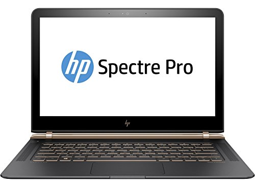 "HP Spectre Pro 13 G1 Portatile, 13.3"", Intel Core i5-6200U, 8 GB RAM, 256 GB, Argento [Germania]"