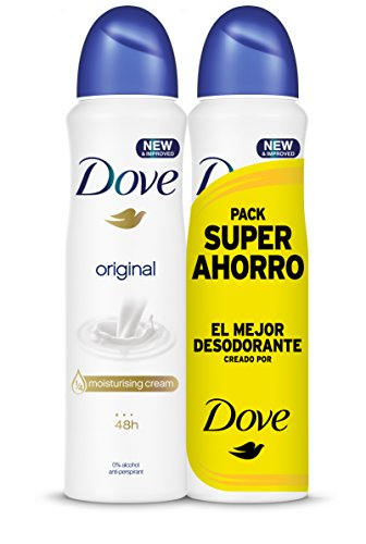 Dove - Pack Ahorro Desodorante Original 2X200 ml