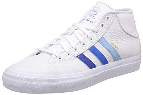 Chaussures Adidas Matchcourt Mid - White Collegiate / Royal-Blanc Blanc