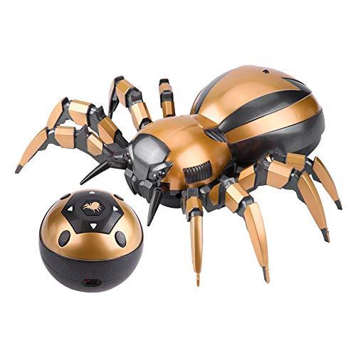 lzeug, Feilun FK502A Fernbedienung Mechanische Spinne mit LED-Leuchten 360 ° Rotation RC Spinne Modell Spielzeug Geschenk für Kinder ()