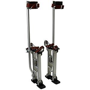 Bon 15-353 – Zancos de gran altura regulables para albañiles o yeseros, 45,7-76,2 cm