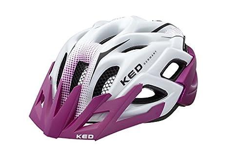 KED Fahrradhelm Status Junior, Violett Pearl Matt, M, 16403085M