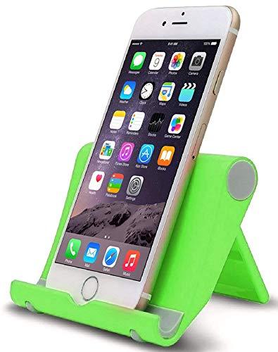 Lucklystar Handy Ständer, Handy Halterung : Handyhalterung, Halter für Phone Xs Max, Xs, XR, X, 8, 7, 6 Plus, SE, 5, Samsung S9 S8 S7 S6 S5 S4, Huawei, Schreibtisch, andere Smartphone - Grün