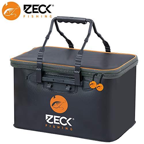 Zeck Tackle Container Predator M - Angeltasche für Gummifische, Wobbler & Jigs, Tackletasche für Kunstköder & Angelhaken