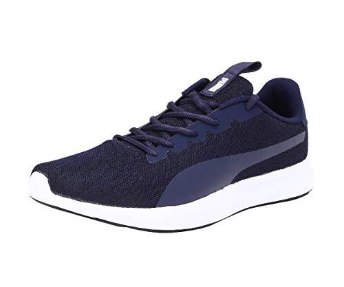 Puma Men's Jigsaw Idp Peacoat-Rhubarb Running Shoes-8 UK (42 EU) (9 US) (37309903_8)