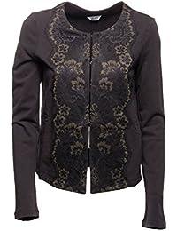 Amazon.it  liu jo - Nero   Giacche e cappotti   Donna  Abbigliamento 97f5256353c