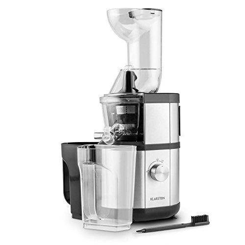 Klarstein Fruitberry Slow Juicer, estrattore di succo lento da 400 W e 60 g/min