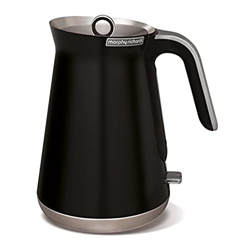 Morphy Richards 100002 Aspect Stainless Steel Kettle   Black