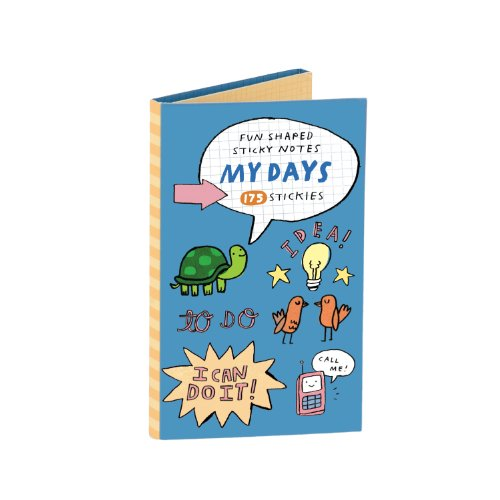 My Days Shaped Sticky Notes