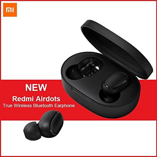 per Xiaomi Redmi Cuffie Bluetooth, Redmi TWS Airdots Auricolari Bluetooth V5.0, Chiamate Binaurali, Cuffie con Rumore Attivo di Cancellazione DSP, Auricolari HiFi, Auricolari Stereo ON/off Automatici