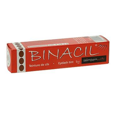 Binacil Wimpernfarbe Braun Augenbrauenfarbe, Wimpernwelle, 15g