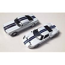 d6bd319400d9fc Générique Lot de 2 Voitures américaines Shelby 350GT + Ford GT 40 1 43 Sport