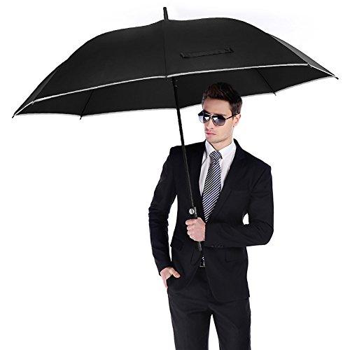 Zoom IMG-1 antivento golf ombrello oversize 62