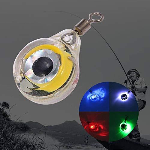 TianranRT GlüHen LED Unterwasser Licht KöDer Fo Fischenlichternacht-LeuchtstoffglüHen FüHrte LichtköDer Angeln Beleuchtung Nacht Fluoreszierend (Rot)