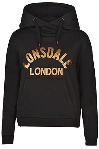 Lonsdale - Sweat à capuche - Femme - multicolore -