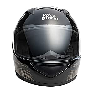 Royal Enfield Black Full Face With Visor Helmet Size (XL)62 CM (RRGHEJ000033)