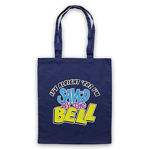 Inspiriert durch Saved By The Bell It's Alright Inoffiziell Umhangetaschen Ultramarinblau