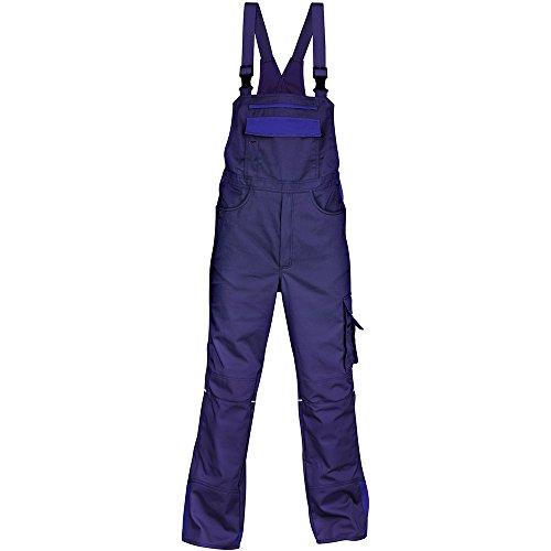 Kübler 30473315-4946-29 Arbeits - Latzhose'Image Vision' marine blau/kornblumenblau 29