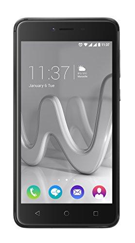 """Wiko Lenny3 MAX Dual SIM 16GB Grey - Smartphones (12.7 cm (5""""), 1280 x 720 pixels, 16 GB, 8 MP, Android, Grey)"""