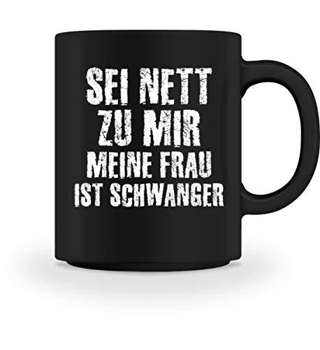 PlimPlom Werdender Vater Kaffeetasse Lustige Spruch Tasse Für Kaffee Tee Kakao - Geschenk Idee -...
