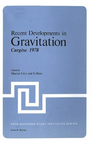 Recent Developments in Gravitation: Carg??se 1978 (Nato Science Series B:) by Maurice Levy (2013-10-04) par Maurice Levy