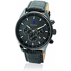 Pierre Lannier men's Quartz Watch Analogue Display and Leather Strap 260D489