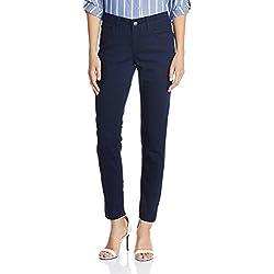 Newport Women's Skinny Fit Jeans (400016223019_Blue_34)