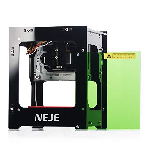 Kecheer Lasergravur Maschine, DIY Carving Graveur DK-8-KZ 3000mW Laserengraver 445nm Intelligente AI-Mini-Graviermaschine unterstützt Offline-Betrieb DIY-Druckschnitzmaschine für Windows