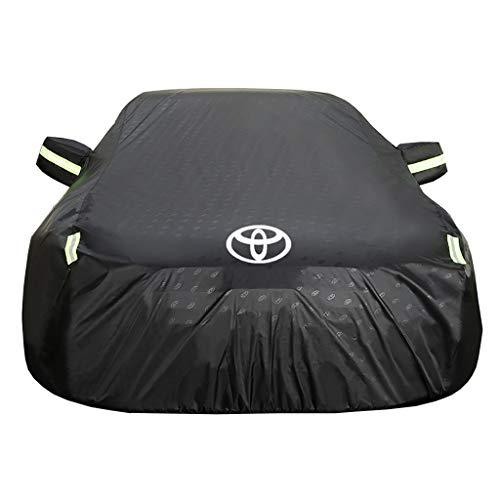 JY Autoabdeckungen Toyota für Automobile wasserdicht Allwetterabdeckungen Sun Uv Regenschutz für den Innenbereich im Freien Toyota-Prius-Note-aAQUA-C-HR-Sienta-Yaris-Voxy-Roomy-Corolla