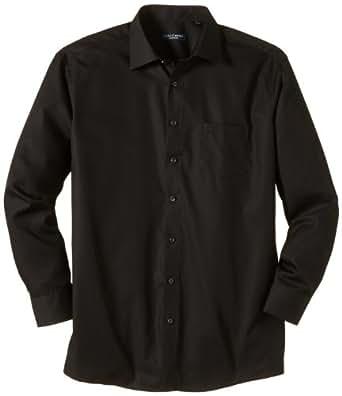 CASAMODA Herren Regular Fit Business Hemd 006050, Gr. Kragenweite: 51, Schwarz (schwarz 80)