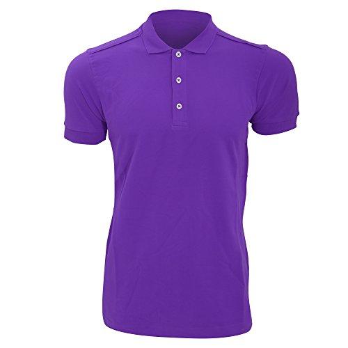 Russell Herren Stretch Polo-Shirt, Kurzarm Ultraviolett