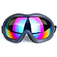 WDAKOWA Skibrille Männer und Frauen Schutzbrillen Kinder Obdach Freilauf,B