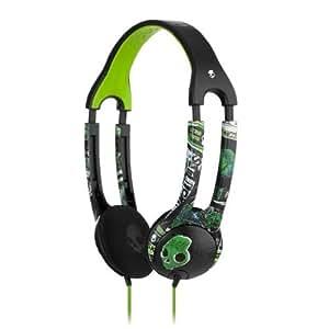 Skullcandy ICON 2 On-Ear Headphone with Mic (Lurker Green/Black)