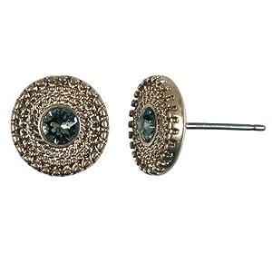 0684 RG Chain circle Ohrringe rosevergoldet Stecker Hultquist 14,90