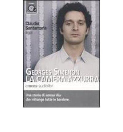 La camera azzurra letto da Claudio Santamaria. Audiolibro. CD Audio formato MP3 (Audio disc)(Italian) - Common