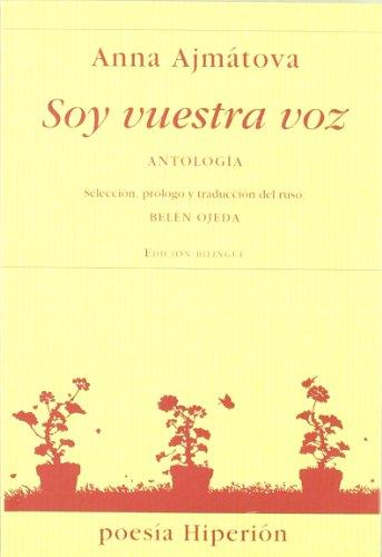 Portada del libro Soy vuestra voz: antología (Poesía Hiperión)