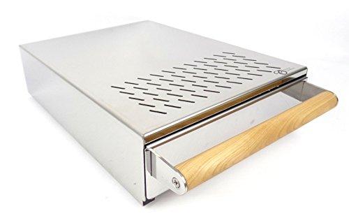 Premium Sudschublade Abklopfbehälter Abschlagkasten Knockbox für gewerbliche Espressomaschinen...