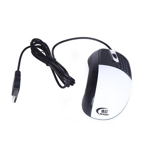 Kingzer Gesundheit Optische Maus Blut Sauerstoffsättigung Pulsmessung multifunctionwhite - Weiß Trackball
