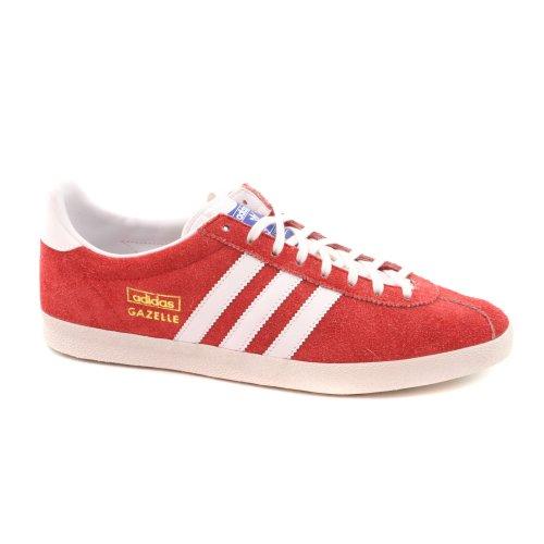Adidas - Baskets Gazelle Og En Daim, Coloris: Rouge Rouge (rouge)