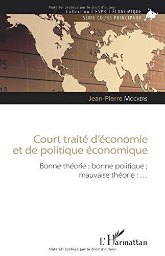 Court traité d'économie et de politique économique