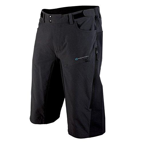 POC Resistance Enduro MID Pantalones Ciclismo, Hombre, Negro (Carbon Black), XS