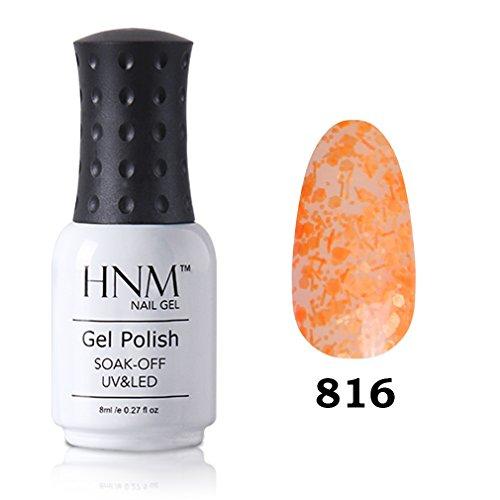 HNM Vernis à Ongles Semi Permanent Manucure Nail Art Pafait pour Vos Ongles UV LED Soak off 8ml-190