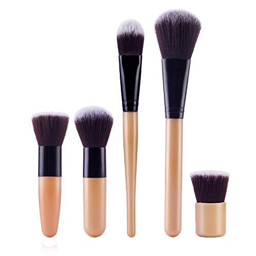 Daysing 5 pcs Make-up Pinsel-Sets Schminkpinsel Kosmetikpinsel Rougepinsel Augenbrauenpinsel...