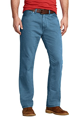 Eddie Bauer Herren Legend Wash Five-Pocket Hose, Gr. 34-34, Blau -