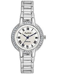 Austere Premium White Dial Women's Watch (WL-0107)(WL-0107)