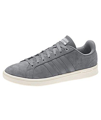 adidas Cloudfoam Advantage, Sneakers Basses Homme, Gris Gris
