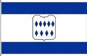 Königsbanner Hochformatflagge Borghorst - 150 x 500cm - Flagge und Fahne